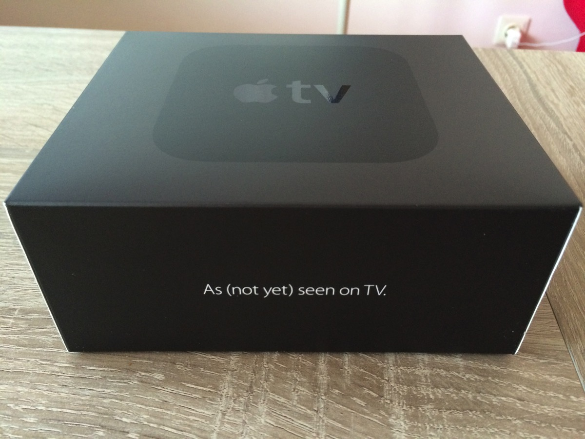 Apple TV Developer Kit Box