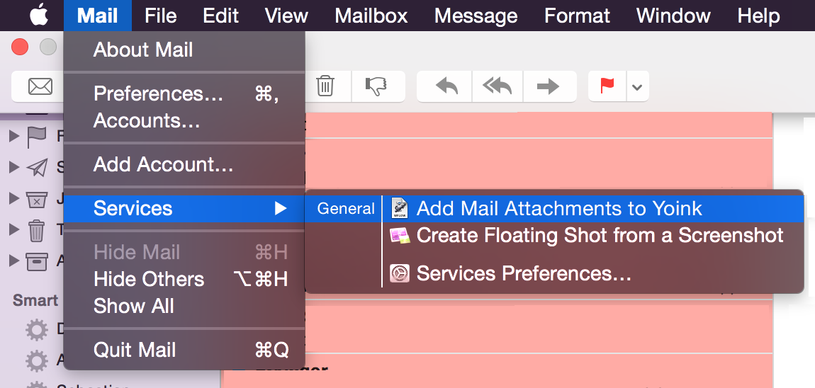Service Installed in Mail