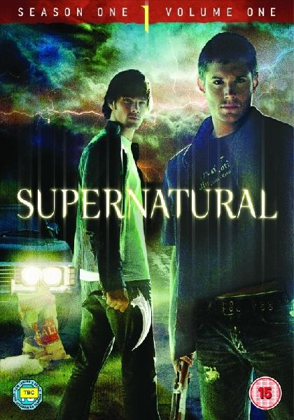 Supernatural Season 1 DVD Cover