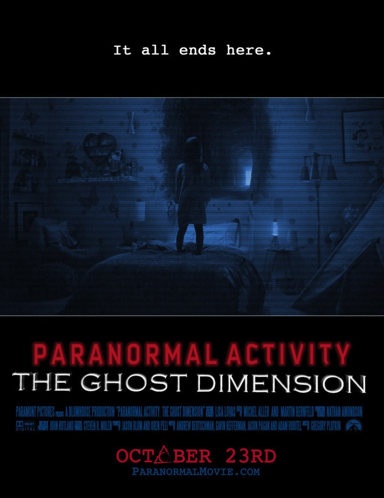 Paranormal Activity-The Ghost Dimension Poster
