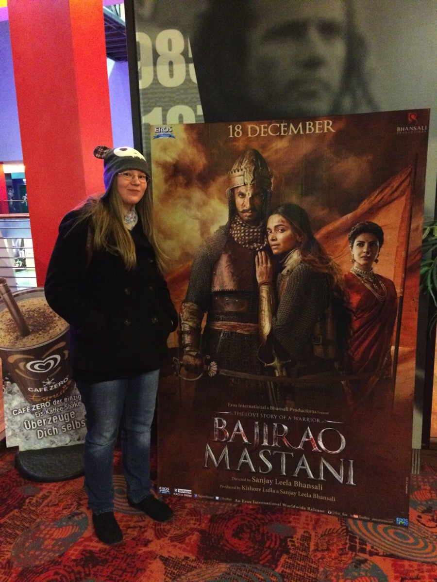 Bajirao Mastani Movie Poster, with my Girlfriend