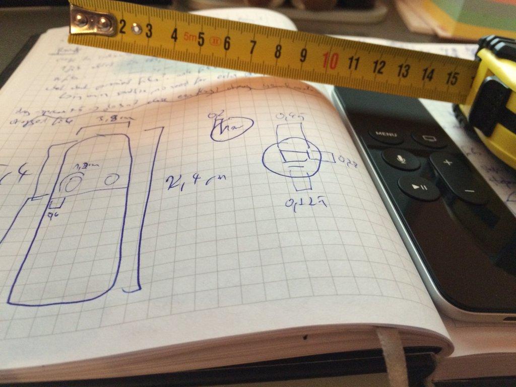 Measuring the Apple TV Siri Remote