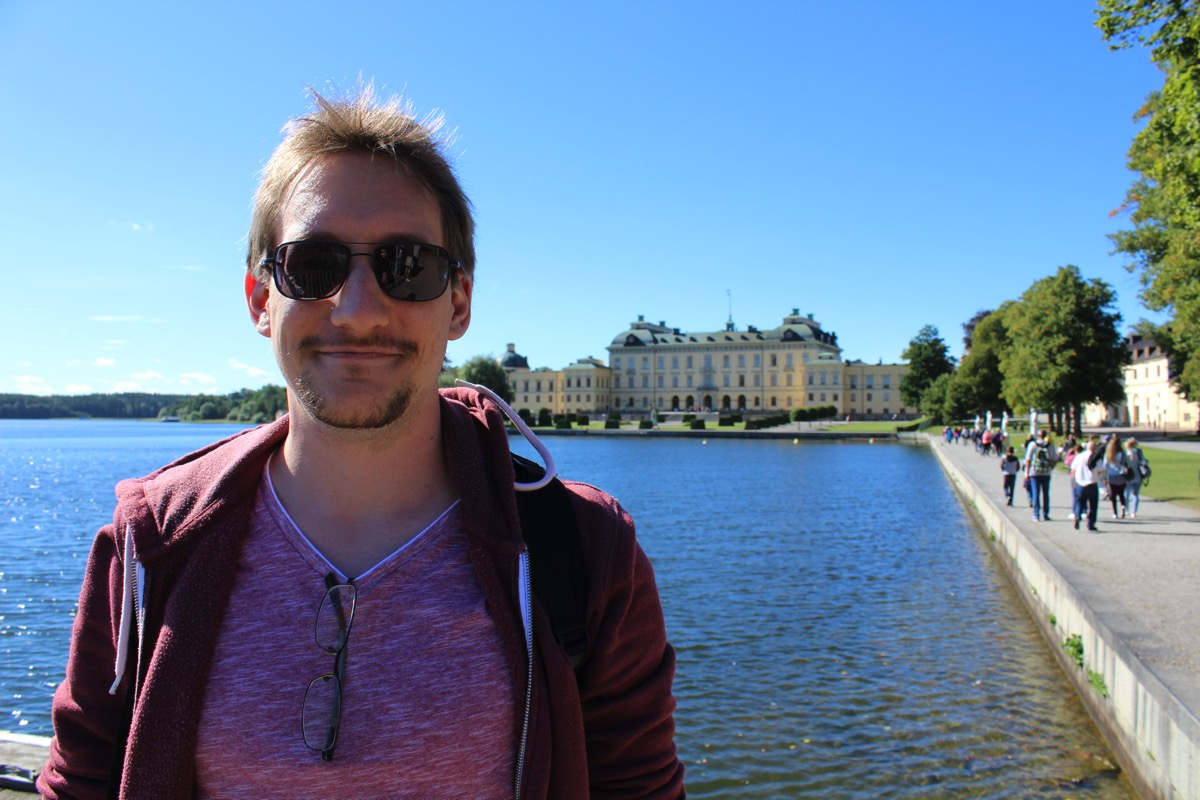 Me at Drottningholm, Sweden