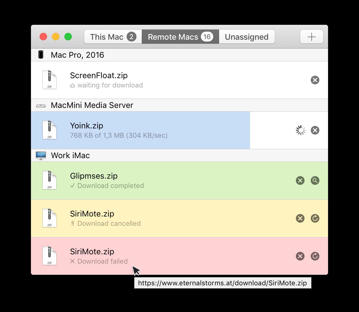 Transloader Progress Bars