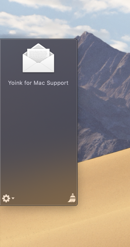 Yoink for Mac - Usage Tips